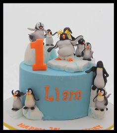 Cakes By Kim - penguin cake