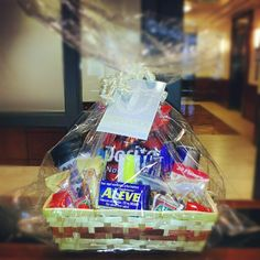 Awww i remember when i did this for some of my friends: Bar Exam Prep Gift Basket