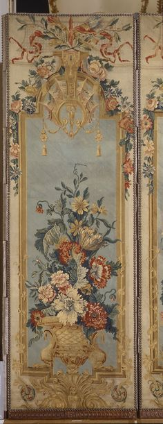Consuelo Vanderbilt | This is one of a four panel screen by George Hoentschel once in the collection of Madame Jacques Balsan and later the Metropolitan Museum of Art.