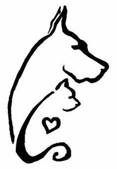 Cat Clip Tattoos Tagged As Dog Tattoo 1 By Chochuschuvio On