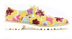Derbies Rosana - inspiration florale