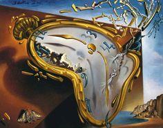 Dali - Montre Molle Mini Poster by Dalí, Salvador 20 x Salvador Dali Gemälde, Salvador Dali Paintings, Dali Prints, Dali Clock, Clock Art, Clock Vintage, Framed Art Prints, Poster Prints, Art History