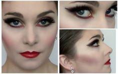 Odile, Black Swan Makeup Tutorial