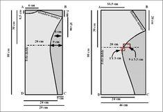 Molderia blusa escote buche - Imagui