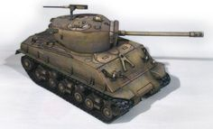 WW2`s M4A3E8 Sherman Tank Paper Model - by World Of Tanks - == -  By Russian website World of Tanks, this is the WW2`s Sherman Tank paper model, in 1/50 scale. This is the M4A3E8 version.