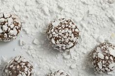 Peppermint cream chocolate truffles recipe