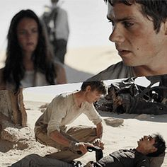 #TheScorchTrials i cried at this part bc the acting and newt giving him the gun and AWW NOOOO MY FEELS