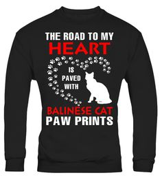 """# My Heart Is Paved With Balinese Cat Paws Print Shirt .  Special Offer, not available in shops      Comes in a variety of styles and colours      Buy yours now before it is too late!      Secured payment via Visa / Mastercard / Amex / PayPal      How to place an order            Choose the model from the drop-down menu      Click on """"Buy it now""""      Choose the size and the quantity      Add your delivery address and bank details      And that's it!      Tags: The best gifts for women…"""