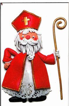 Advent, Saint Nicolas, Ecole Art, Xmas, Christmas Ornaments, Art Plastique, Saints, December, Holiday Decor
