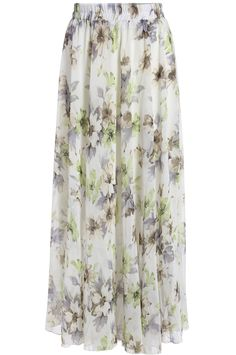To find out about the White Floral Chiffon Long Skirt at SHEIN, part of our latest Skirts ready to shop online today! Long Chiffon Skirt, White Chiffon, Floral Chiffon, Skirt Pleated, Maxi Skirts, Maxis, White Skirts, Dress Codes, Dress Skirt