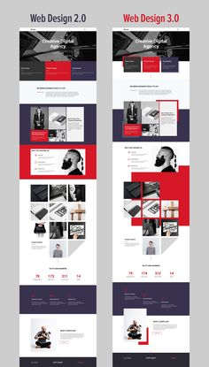 Free Templates by Nicepage Builder: Nicepage allows designing both the trendiest web designs of 2019 with freehand positioning element overlapping and white space; and the bootstrap-like designs. Start with any design you like! Web Design Trends, Coperate Design, Layout Design, Web Design Websites, Online Web Design, Web Design Quotes, Modern Web Design, Website Design Layout, Web Design Tips