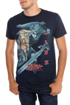 c97229332 legend of zelda t shirts | Nintendo The Legend Of Zelda: Twilight Princess Link  T
