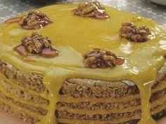 Bolo de Amêndoa com Doce de Ovos | Sobremesas de Portugal