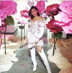 insideshowbiz tweet Feb 26 2019 LusterPopUpStore Nadine Lustre, Rave, Shoulder Dress, Luster, Dresses, Style, Fashion, Raves, Vestidos