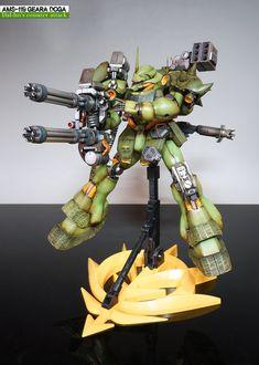 MG 1/100 AMS-119 Geara Doga - Customized Build     Modeled by 역습의 곽달호