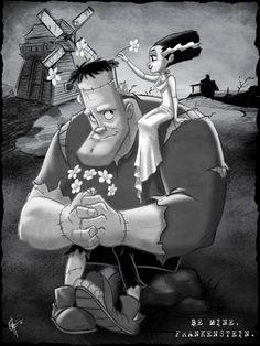 Be Mine, Frankenstein.