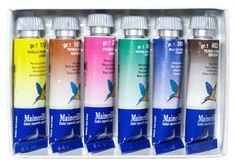 MaimeriBlu Watercolour : Set of 6 : Introductory 15ml http://www.jacksonsart.com/Brands-A-Z_All_Brands-Maimeri-Maimeri_Blu_Artists_Watercolour-Maimeri_Blu_Artists_Watercolour_Sets/c2200_1044_919_2446_2456/p13325/MaimeriBlu_Watercolour_:_Set_of_6_:_Introductory_15ml/product_info.html #maimeri #maimeriblu #gift #set #watercolour