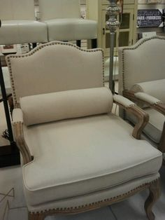 Charming Chair, Great Find...@HomeGoods! Nice Look