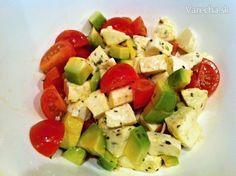 Expresný mozzarelovo - avokádový šalát - Recept Pasta Salad, Cobb Salad, Ethnic Recipes, Food, Crab Pasta Salad, Essen, Meals, Yemek, Eten