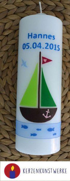 Taufkerzen - Taufkerze - ein Designerstück von Kerzenkunstwerke bei DaWanda