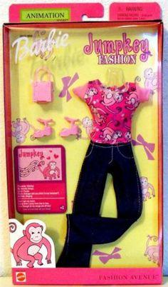 Barbie Fashion Avenue Doll Clothes Jumpkey Fashion Outfit Doll | eBay