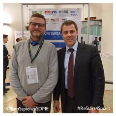 Team Sapienza Faculty Advisor Prof. Marco Casini with Andrea Padovan CEO at ilevia Official Partner of Team Sapienza in the Solar Decathlon Middle East competition at Home & Building 2017 - Palaexpo Verona . . Find out more on our Flickr Profile  sapienza SDME . #ReStart4Smart #TeamSapienzaSDME #SMDE2018 #SolarDecathlon #solarpower #homeautomation #buildingtechnologies #ilevia #verona #town #energy