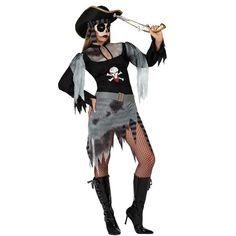 Disfraz de pirata fantasma adulta #disfraces #halloween #piratas