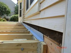 building a deck step by step | Step by step on how to build a deck with a screen porch #deckbuildingideas