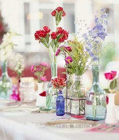 Rustic Florals   Airth and Olson, Washington, Wedding Rentals, Vintage Wedding Decor