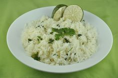Cilantro Lime Rice! Copycat Chipotle Recipe :)