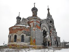 God-forsaken: Abandoned churches and cathedrals of Russia - 53 / Cathedral of Christ the Saviour, 1905. The village of Sedelnitsi, Ivanovo Oblast