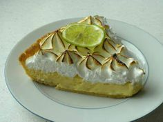 Key Lime Pie for Jeremy: Key Lime Pie is a famous speciality from the Keys region of southern Florida.This delicious tart is usually made with Key limes - a special variety. But in this simplified version, normal limes will work perfectly well.