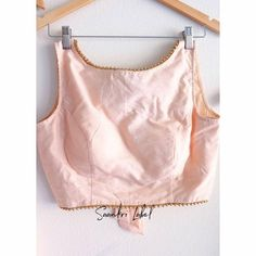 Whatsapp Messenger, Blouse Designs, Camisole Top, Tank Tops, Ethnic, Pink, How To Wear, Blouses, Collection