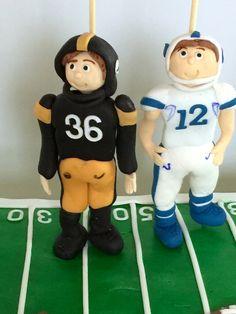 #footballcakes.   For twin boys.