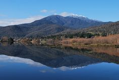 Mount Beauty & Mount Bogong -- 4 hour drive from Melb; looks particularly nice in fall Places Around The World, Around The Worlds, Next Holiday, View Image, Places Ive Been, The Good Place, Cool Pictures, Reflection, To Go