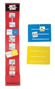 Amazon.com: Daily Schedule Board Kit: Picture Exchange Communication System (PECS): Office Products