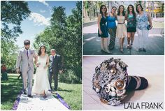 Novia: Carolina Vergani Zapatos: Laila Frank. #LailaFrank #shoes #design  #party #Bride #Bridal #Wedding #novia #boda #casamiento #zapato #tacos #elegant #style #Love