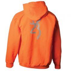 Browning Men's Flash Hoodie - Safety Orange - Mills Fleet Farm