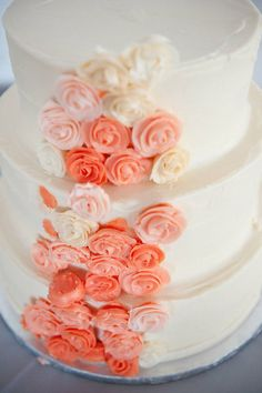 Simple but elegant. You could even change it up a bit and do a black cake if you're wanting something different :)