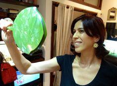 A atriz Maria Clara Gueiros visitou o atelier e se encantou com o brinco Notre Dame! Confira no site: http://bit.do/NFCX