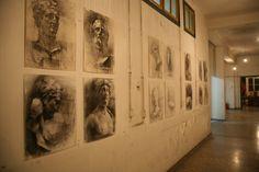 Σχέδια Μαθητών από το Φροντιστήριο Καλών Τεχνών (ΑΣΚΤ) Σχεδίου Ζωγραφικής – Γρηγόρης Κολιζέρας  Φωτογράφιση Μαργαρίτα Μυρογιάννη Painting, Art, Art Background, Painting Art, Kunst, Paintings, Performing Arts, Painted Canvas, Drawings