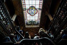 A famosa livraria de Harry Potter, no Porto, está com a fachada tinindo de nova  –   Sem Perrengue
