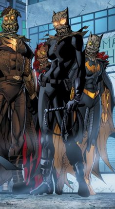 A preview of this week's DETECTIVE COMICS #29, including the full-size double-page spread.
