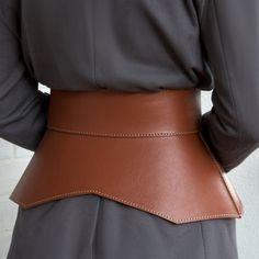 Fashion Belts, Fashion Fabric, Fashion Outfits, Belts For Women, Clothes For Women, Ceinture Large, Mode Plus, Corset Belt, Wide Leather Belt