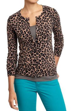 SO sexy & Cute!    Old Navy Women's Button Front Stretch Cardis, $24.94, available at Old Navy.