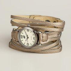 Gunmetal Multi-Strand Watch | World Market