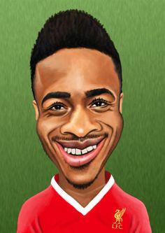 Raheem Sterling Ynwa Liverpool, Liverpool Players, Liverpool Football Club, Premier League Soccer, Raheem Sterling, You'll Never Walk Alone, English Premier League, Making Faces, Football Players