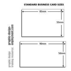 Business card sizes know more about standard business card compliment slip paper size compliment slipbusiness card colourmoves