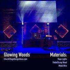Glowing Woods