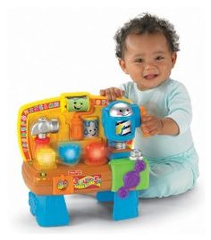 Fisher-Price Laugh & Learn Learning W...  Order at http://www.amazon.com/Fisher-Price-Laugh-Learn-Learning-Workbench/dp/B002OSY2SC/ref=zg_bs_166269011_98?tag=bestmacros-20
